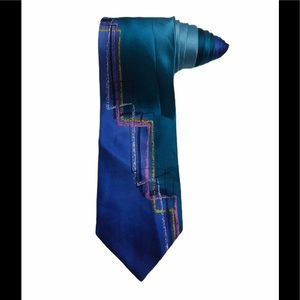 J Jerry Garcia Grateful Dead Paris In The Rain Tie